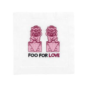 Foo for Love Cocktail Napkins - Dashing Trappings
