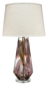 Watercolor Table Lamp, Jamie Young, mouth blown glass lamp , Dashing Trappings