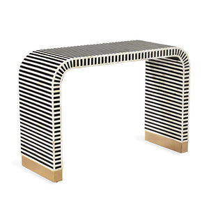 Beacon Console Table - Black - Dashing Trappings