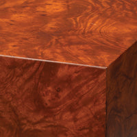 Seville Side Table, burl wood veneer, Moorish , Jamie Young, Dashing Trappings