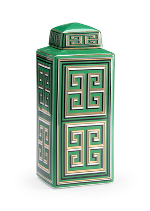 Jada Canister, Large, Small, Greek Key, Wildwood, Dashing Trappings