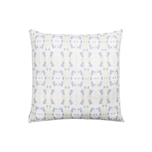 Cheetah Lavender Linen Cotton Pillow, Laura Park Designs