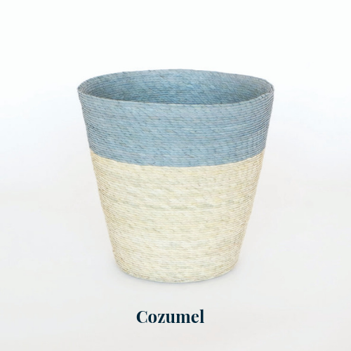 Conical Basket - Stripe - Dashing Trappings