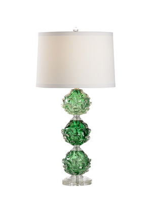Luck Of The Irish Lamp, Wildwood, Glass, Green, Dashing Trappings