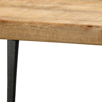 Farmhouse Coffee Table, Jamie Young, Wood, Iron, Dashing Trappings