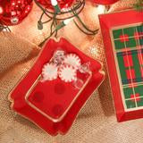 Holiday Dots Trinket Tray - Dashing Trappings
