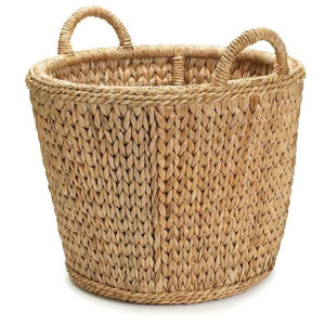 Sweater Weave Log Basket, Mainly Baskets, Dashing Trappings