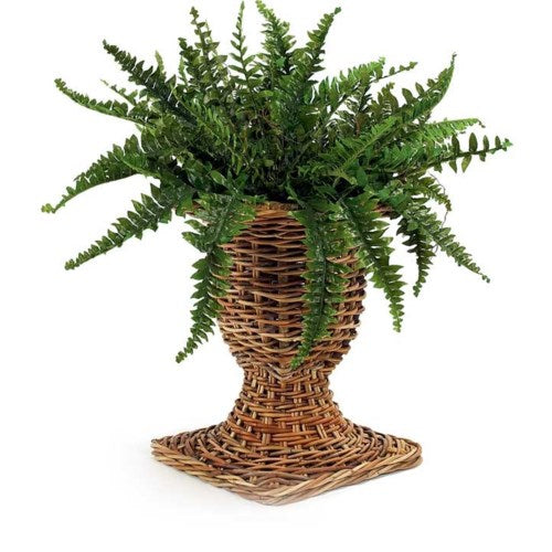 French Country Wicker Urn, Mainly Baskets, Dashing Trappings