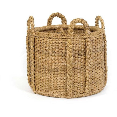 Sweater Weave Fireplace Basket, Mainly Baskets, Dashing Trappings