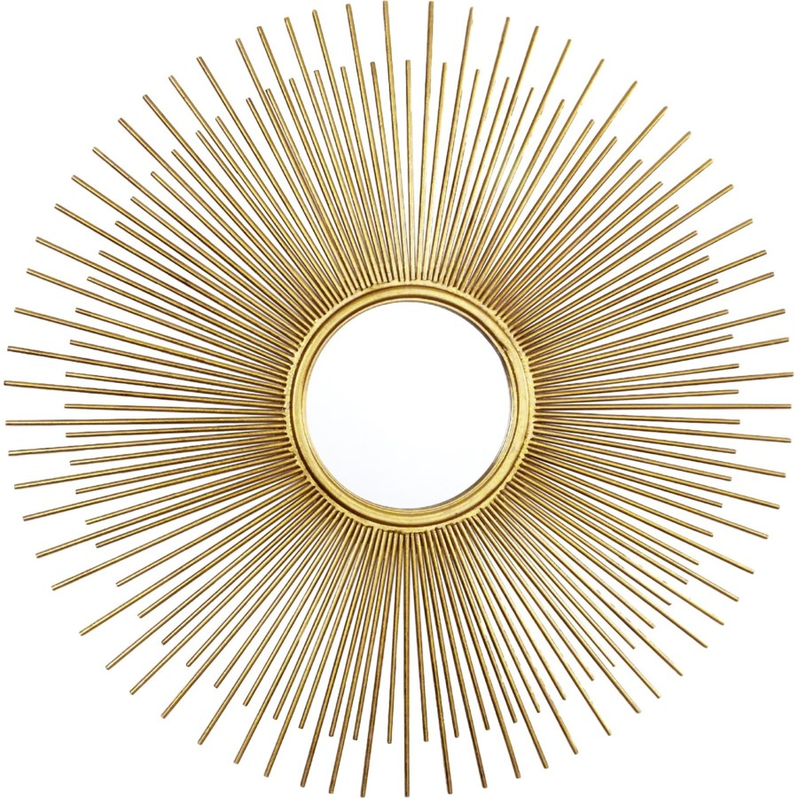 Golden Sunburst Mirror - Dashing Trappings