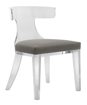 Rhys Acrylic Dining Chair - Dashing Trappings