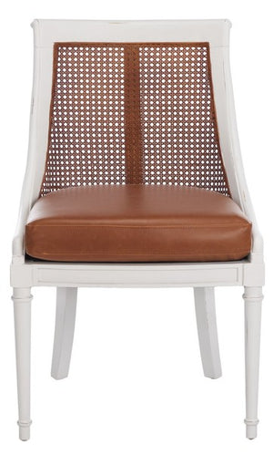 Saylor Leather Dining Chair - Dashing Trappings