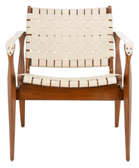 Dilan Leather Safari Chair - Dashing Trappings