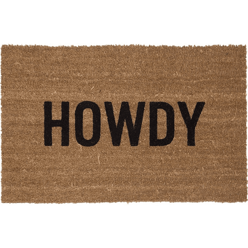Howdy Doormat - Dashing Trappings