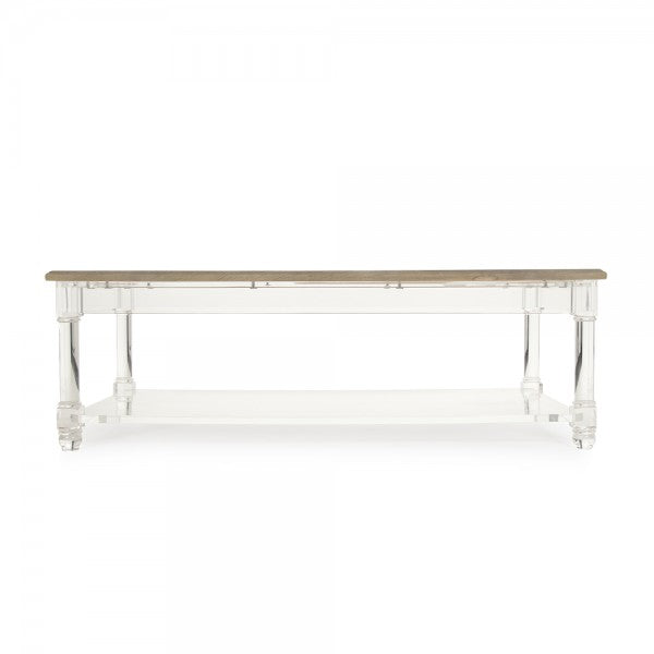 Corbin Acrylic Coffee Table - Dashing Trappings