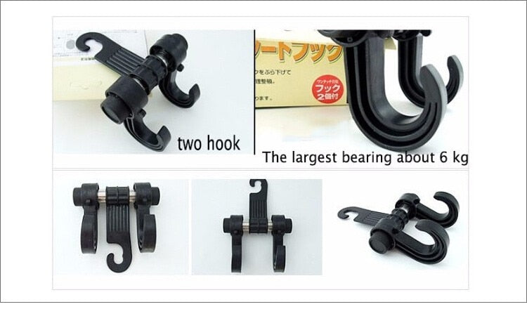 Premium Car Magic Headrest Hooks