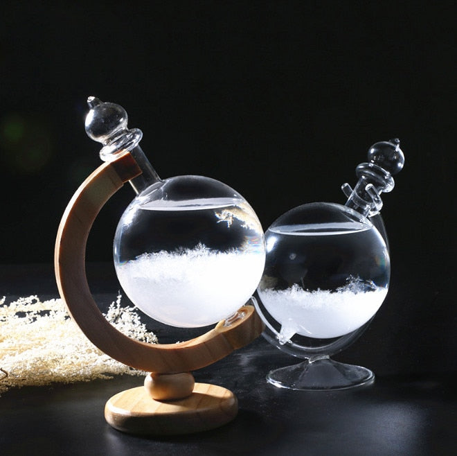 Best Seller Crystal Storm Glass Globe