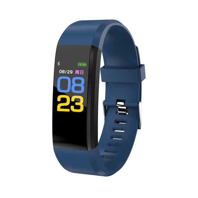 Heart Rate & Blood Pressure Smart Band
