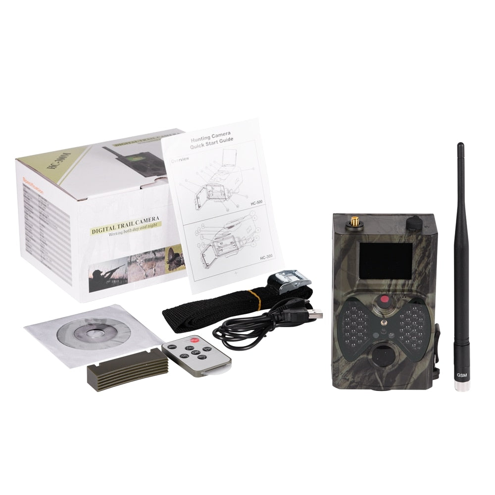 Cellular Trail Game Deer Remote Camera For Hunting
