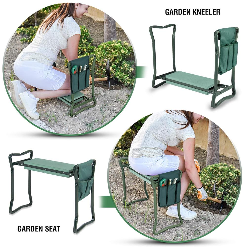Premium Kneeler and Seat With Pocket