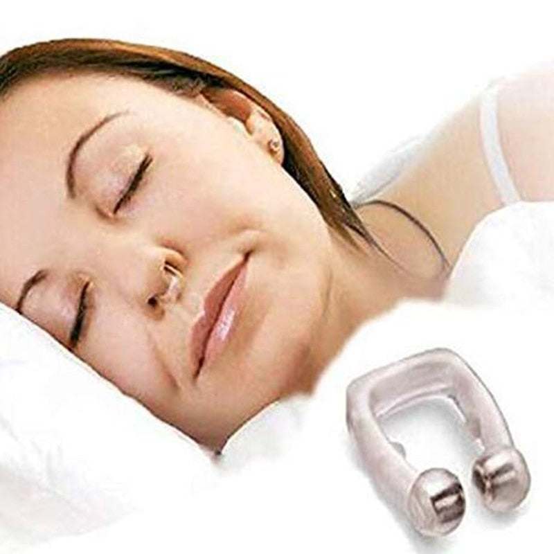 Magnetic Silicone Anti Snoring Aids Device