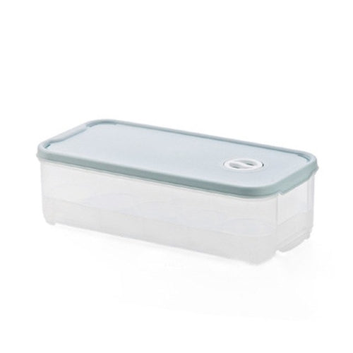 Refrigerator Airtight Egg Storage Box - Khaki, Blue, Green