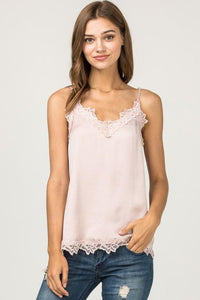 Lace White Cami