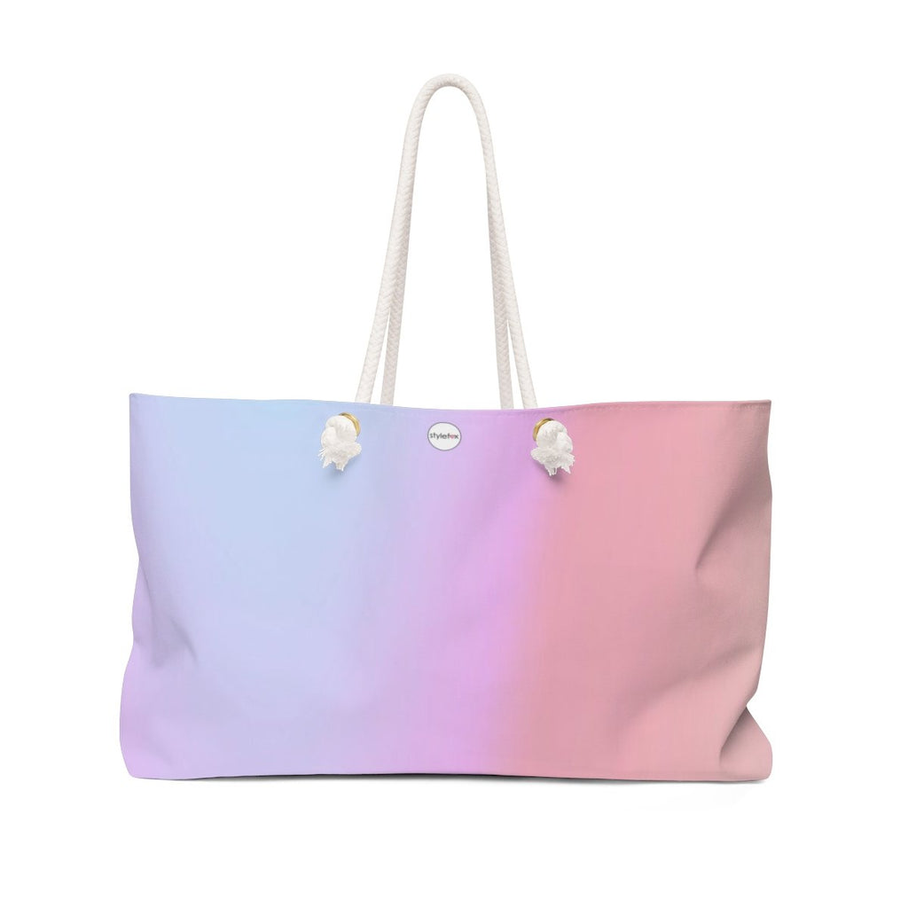 STYLEFOX® Women's Signature Ombre Weekender Tote Bag