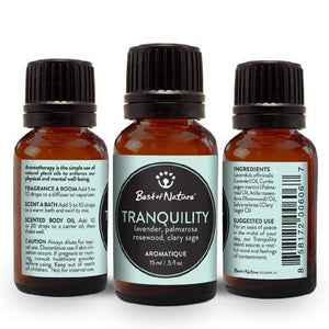 Tranquility Aromatique - Made with Essential Oils