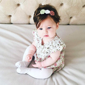 New Cute Baby Girls Infant Floral Lace