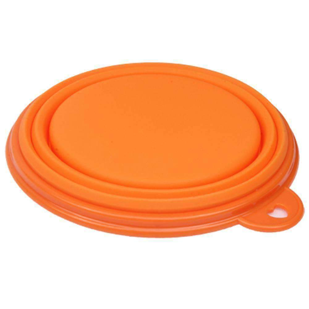 Portable Stretchable Silicon Food Feeder Dish