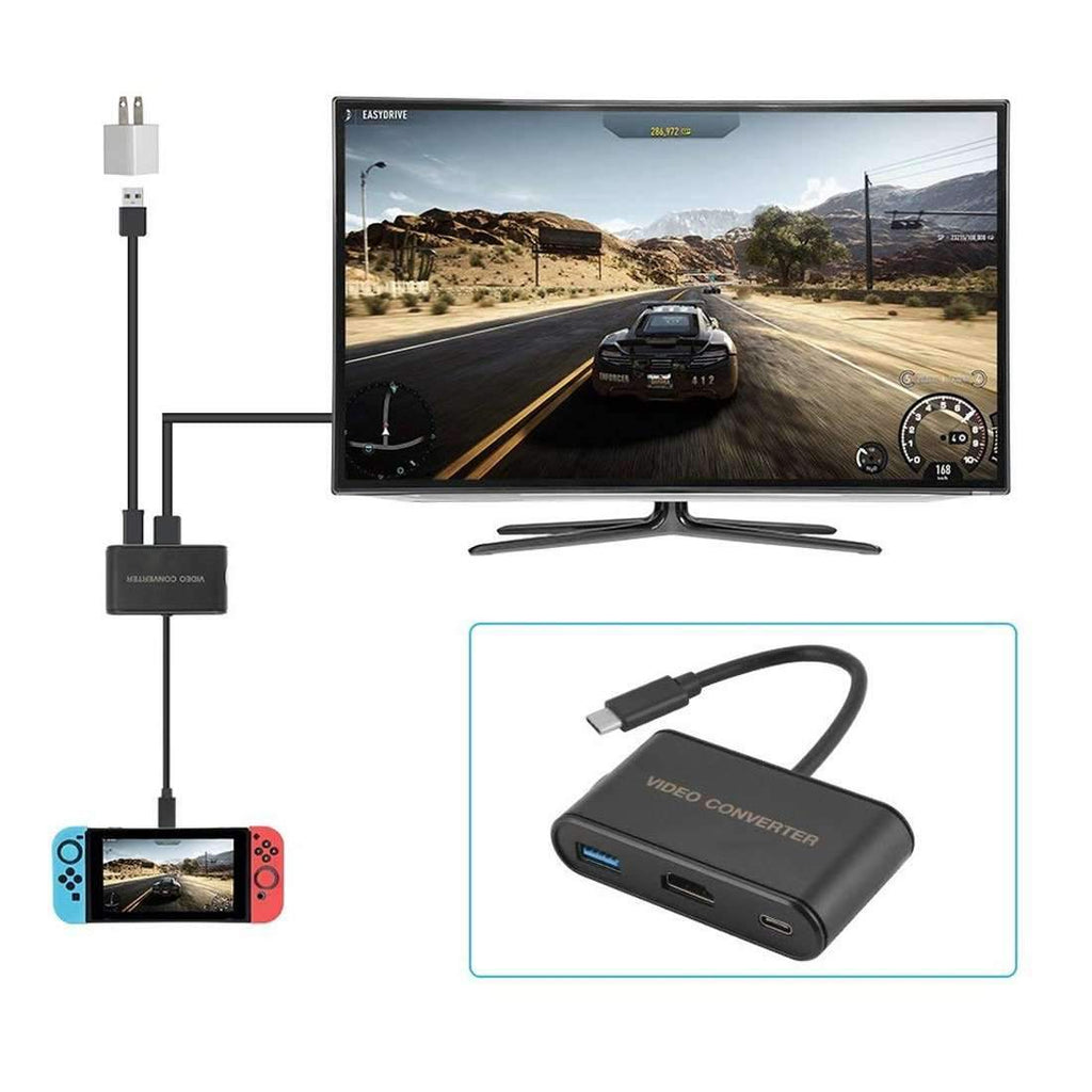 USB Type-C to HDMI Adapter Video Converter