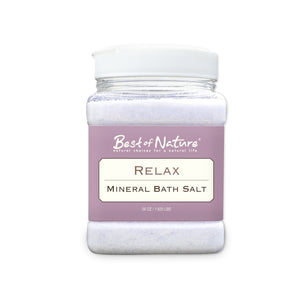 Relax Mineral Bath Salt - 26 oz