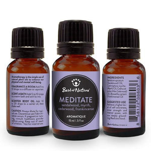 Meditate Aromatique - Made with Essential Oils
