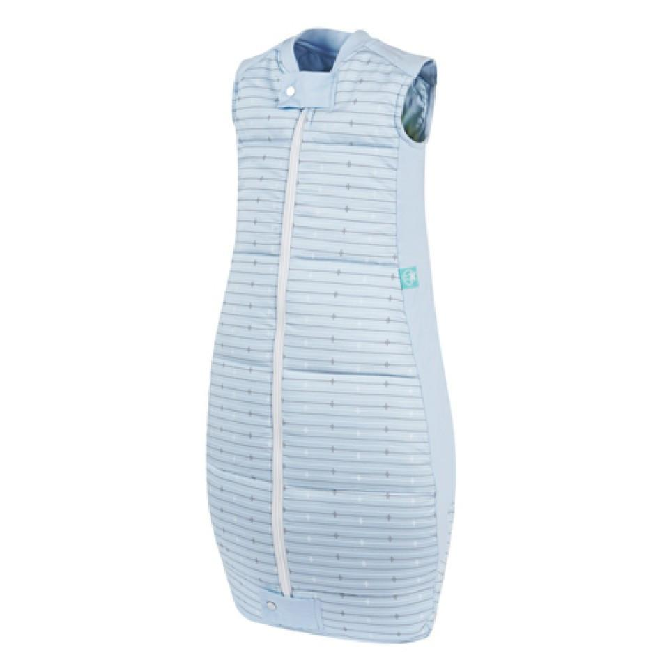 ErgoPouch Winter Baby Sleeping Bag (3.5 tog) - Blue Stripes