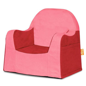 Kids' Little Reader Reading Cushion Chair - Red