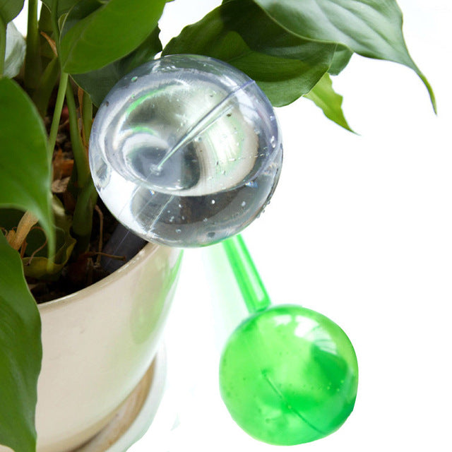 Automatic Plant Watering Pot Device - Green