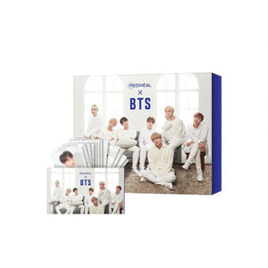 Mediheal x BTS Facial Mask Sheet Special Hydrating Moisture (Blue) Set