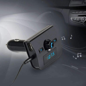 Multifunctional Bluetooth Car FM Transmitter Adapter