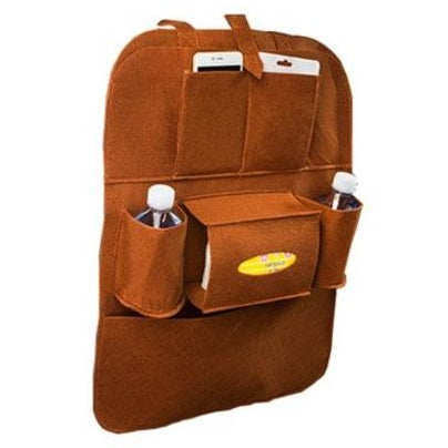 Hanging Car Seat Storage Bag - Available in Many Colors