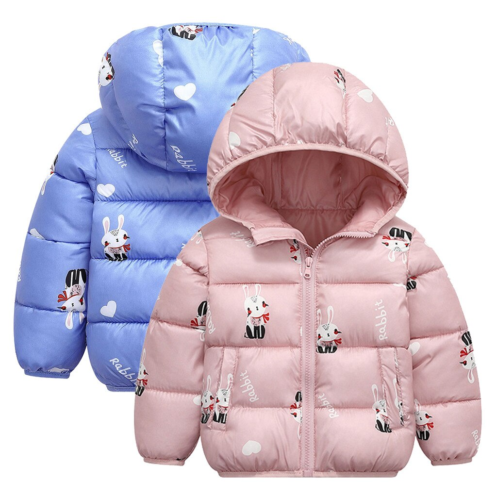 Coat For Girls Cartoon Hooded Coat Jackets For