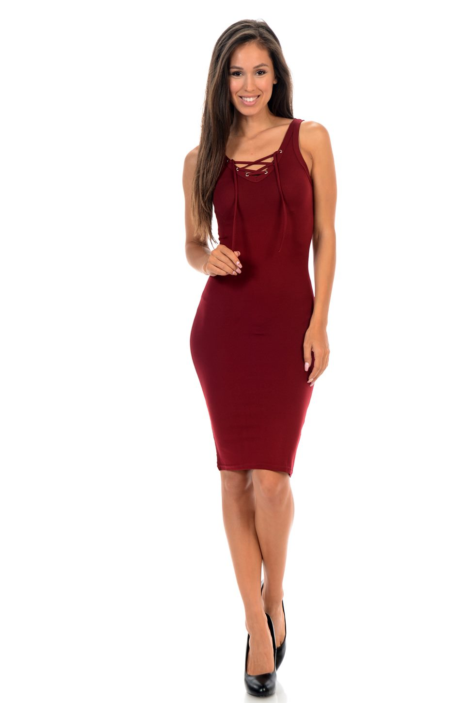 Diamante Fashion Women's Dress - Style C140