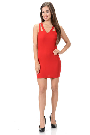Diamante Fashion Women's Dress - Style C261