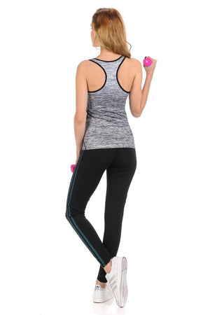 Diamante Yoga Pant Legging - C005B