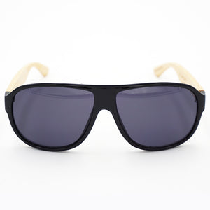 BAM Shield Aviator Bamboo Sunglasses