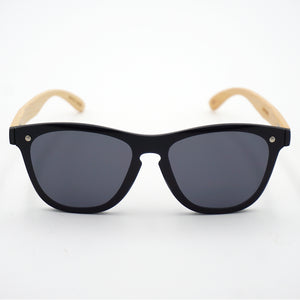BAM Shield Waferer Bamboo Sunglasses