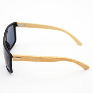 BAM Light Rectangular Bamboo Sunglasses