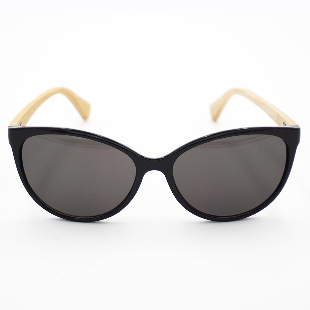 BAM Cat-eye Bamboo Sunglasses