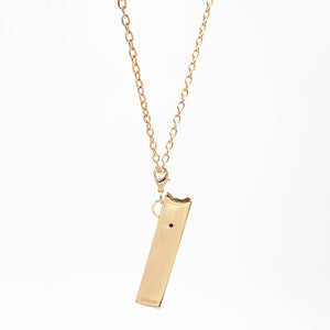 JUULRY Gold JUUL Case w/ Chain & Clip Set