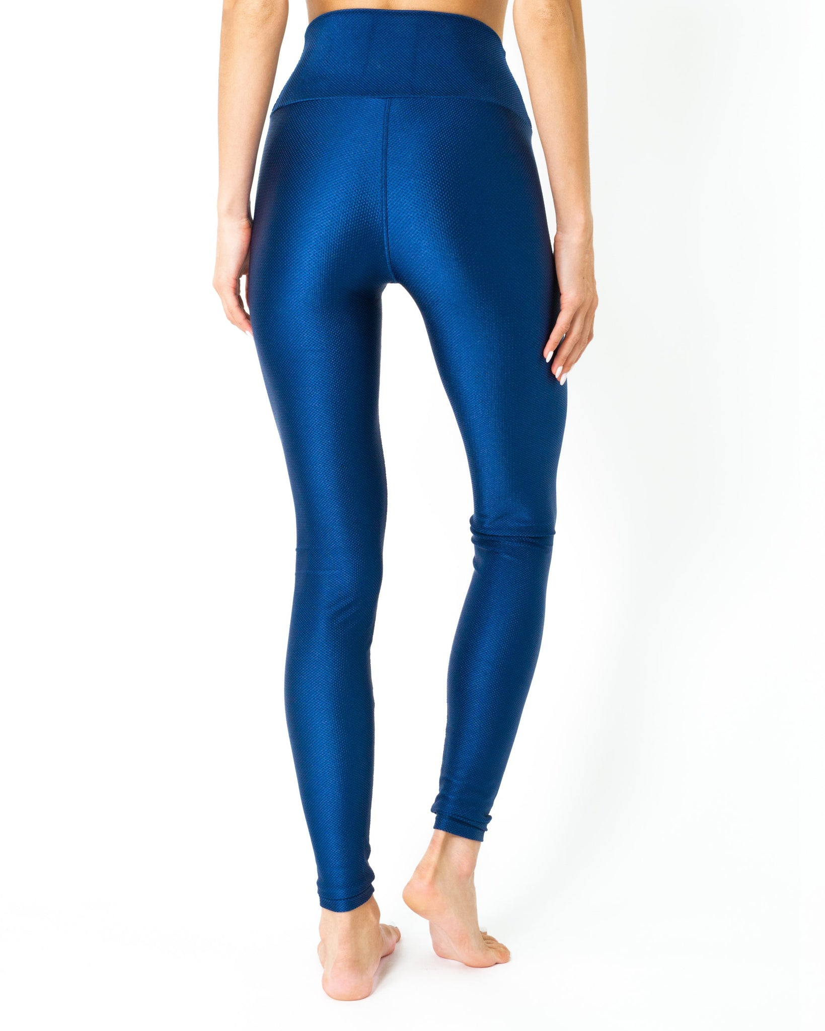Nova Glam Body Sculpting Leggings - Navy Blue